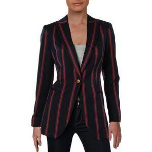 ♥️ NWT! Anne Klein One-Button Stripe Blazer